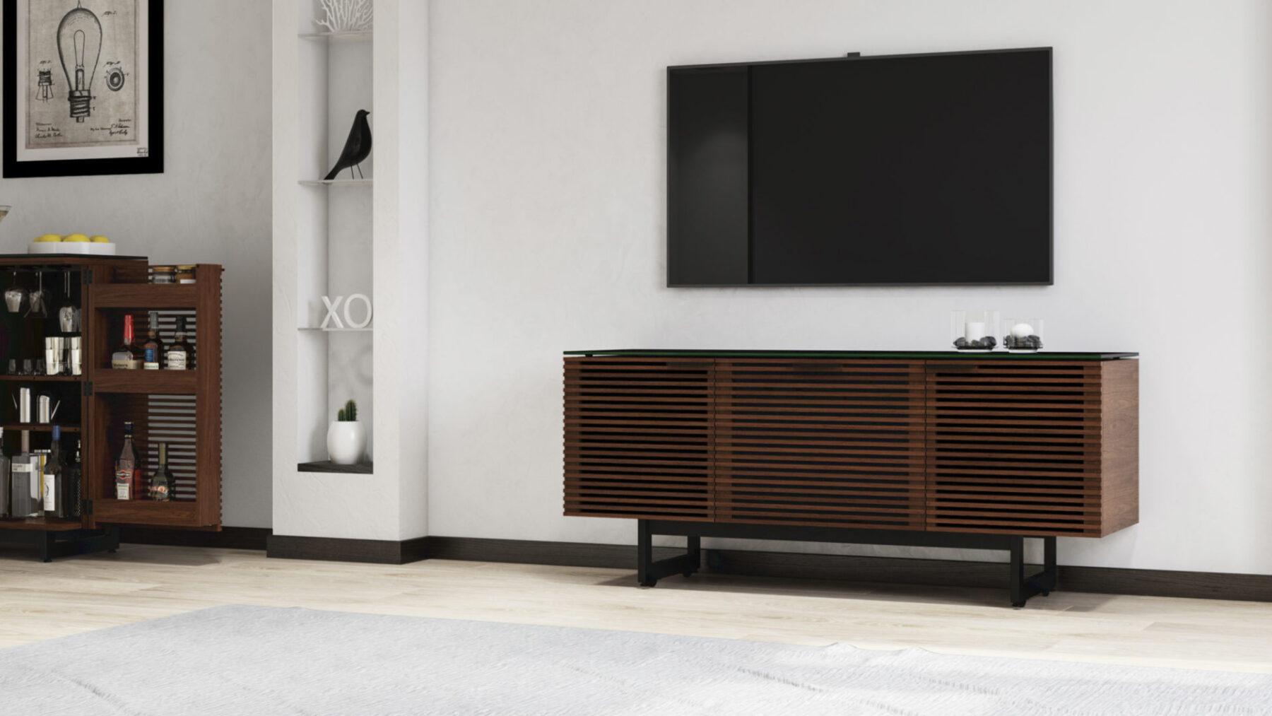 corridor-8177-tv-cabinet-soundbar-chocolate-walnut-2