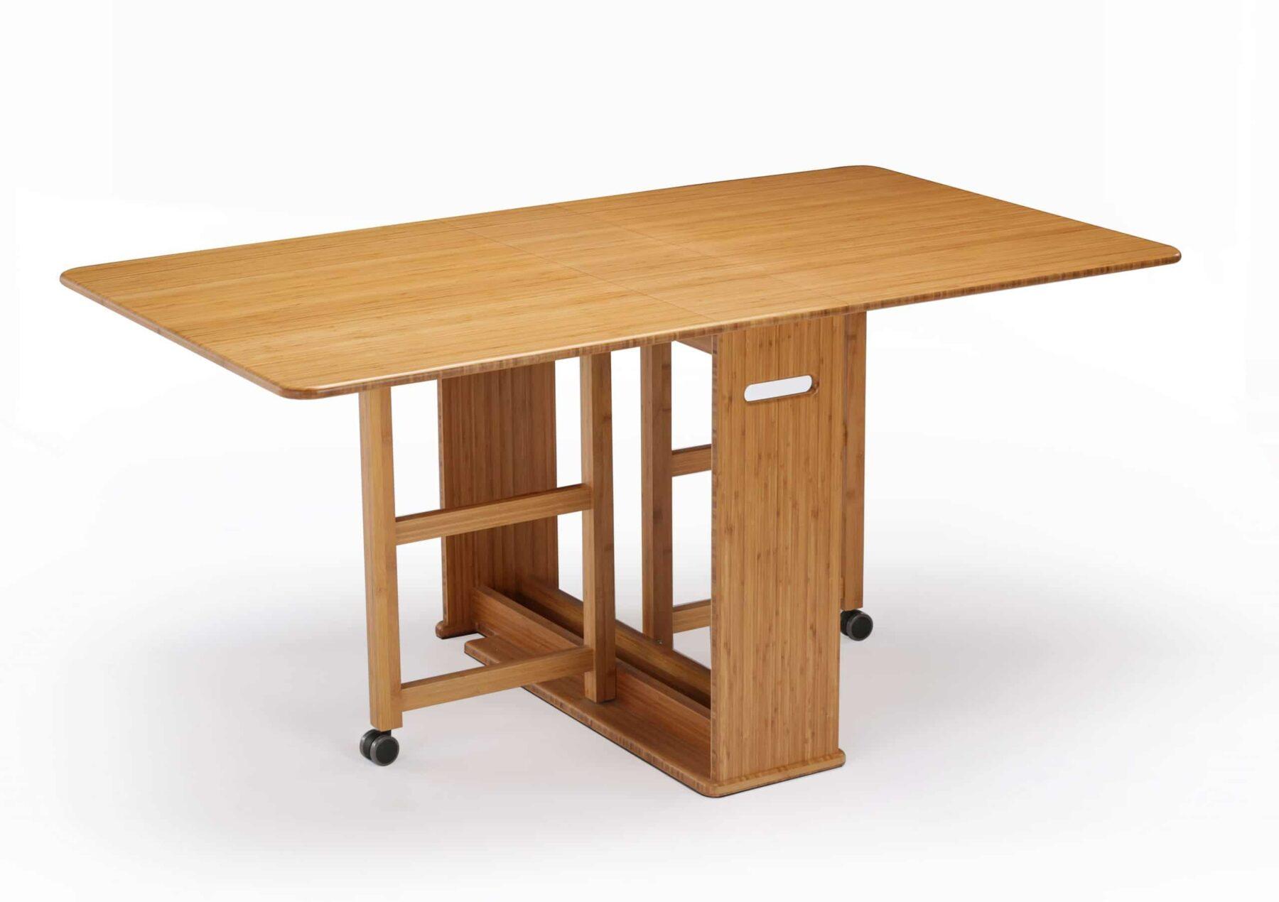 GTL001CA Greenington Linden Gateleg Table Open