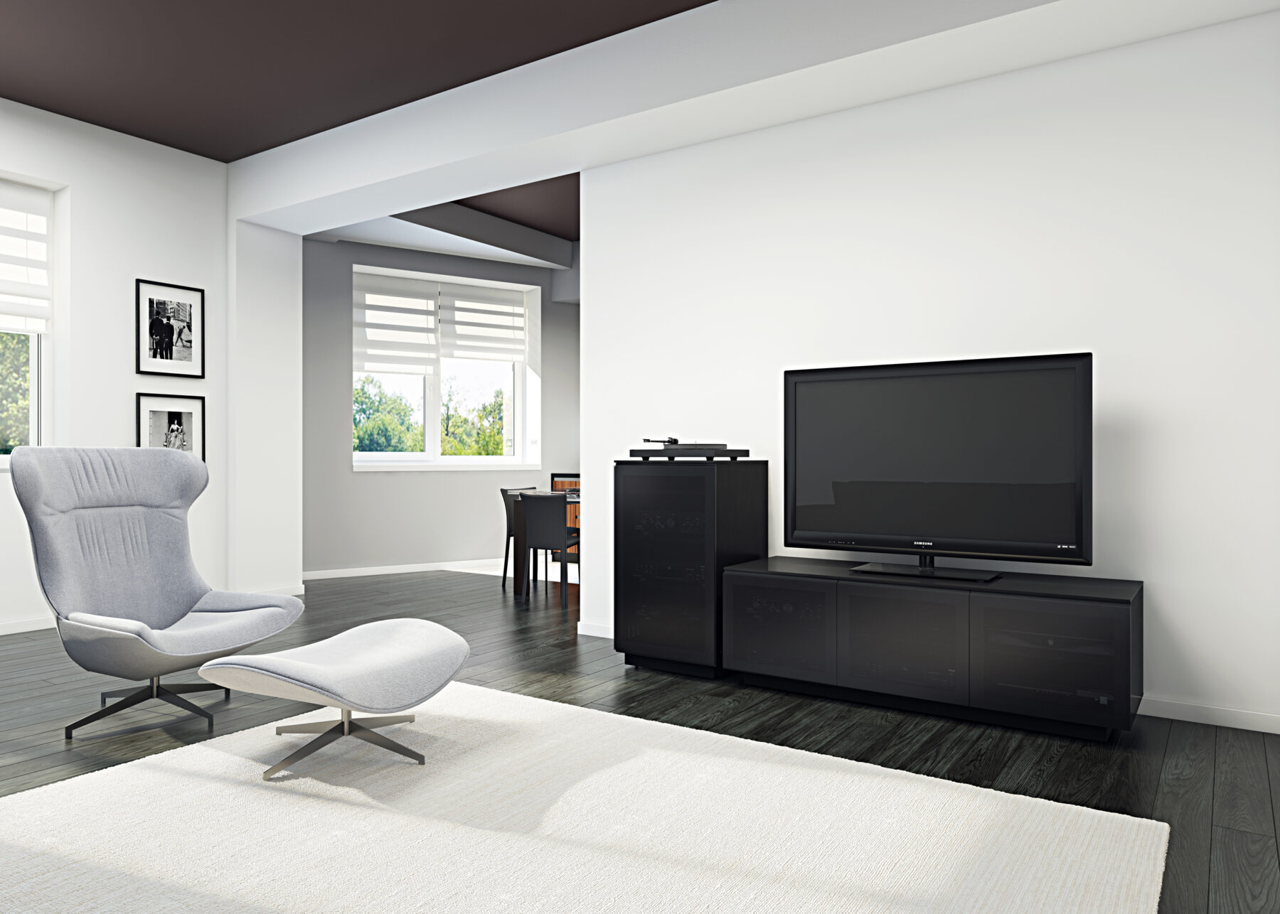 mirage-8227-8222-BDI-media-cabinets-satin-black