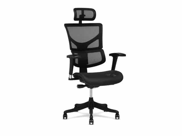 2020_XChair_x1_Black_Flex_Headrest_NoHMT_02_Front_Right_R1