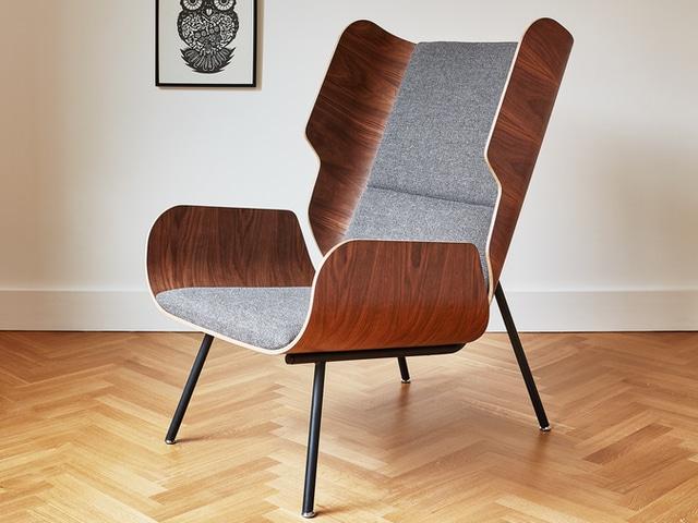 Elk Chair – Andorra Pewter – L01