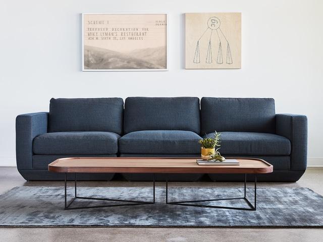 Podium Modular 3PC Sofa – Hanson Navy – L01