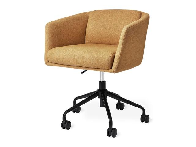 Radius Task Chair with Castors – Stockholm Camel – P01