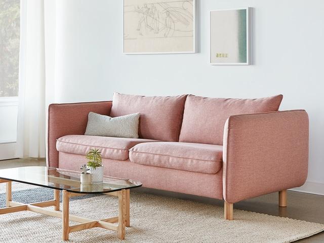 Rialto Sofa Bed – Dawson Rose – L01
