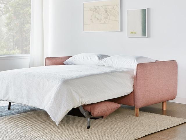 Rialto Sofa Bed – Dawson Rose – L03