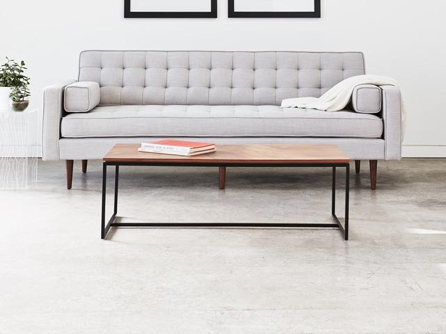 Tobias Coffee Table – Rectangle – Walnut – L03
