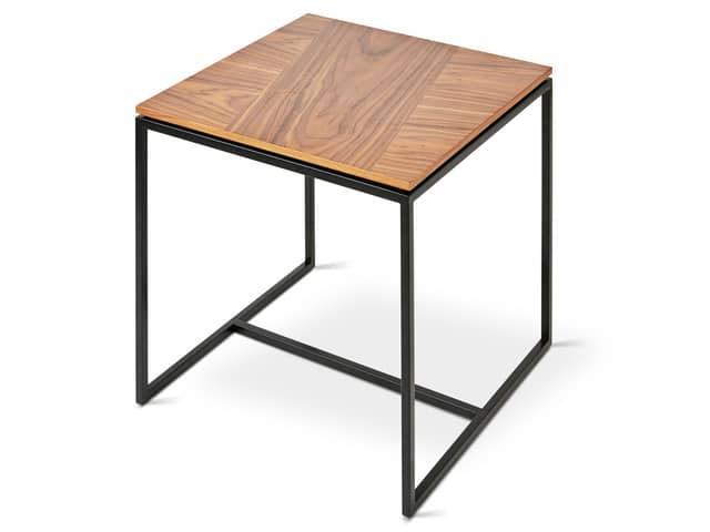 Tobias End Table – Walnut – P01