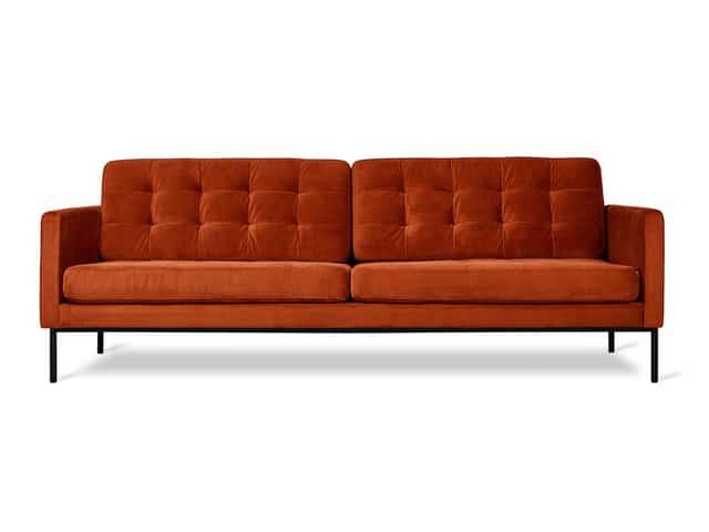 Towne Sofa – Velvet Russet – P02