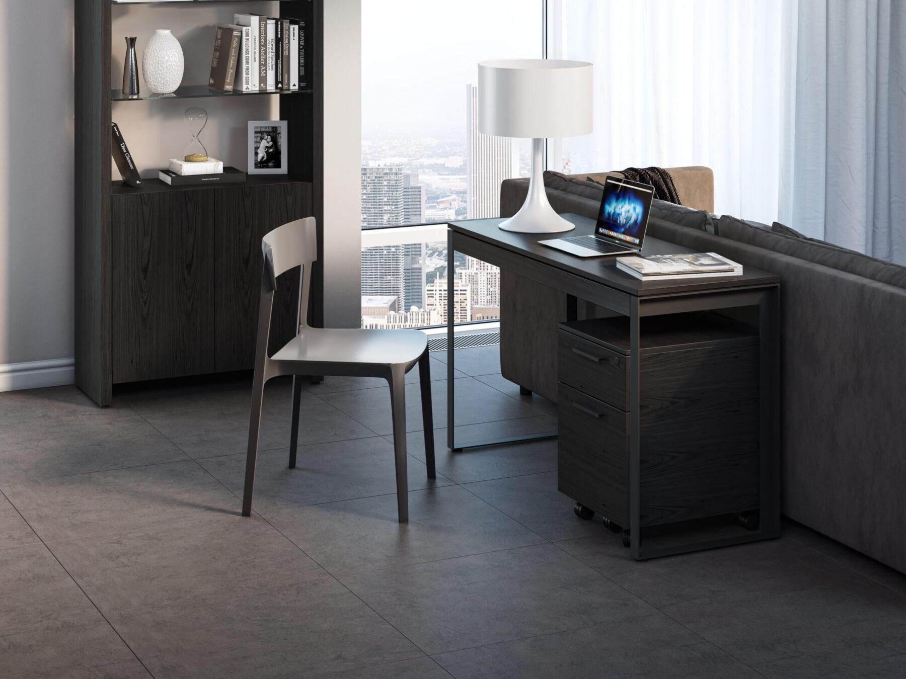 Linea-Console-6222-BDI-Modern-Slim-Desk-Behind-Sofa-CRL