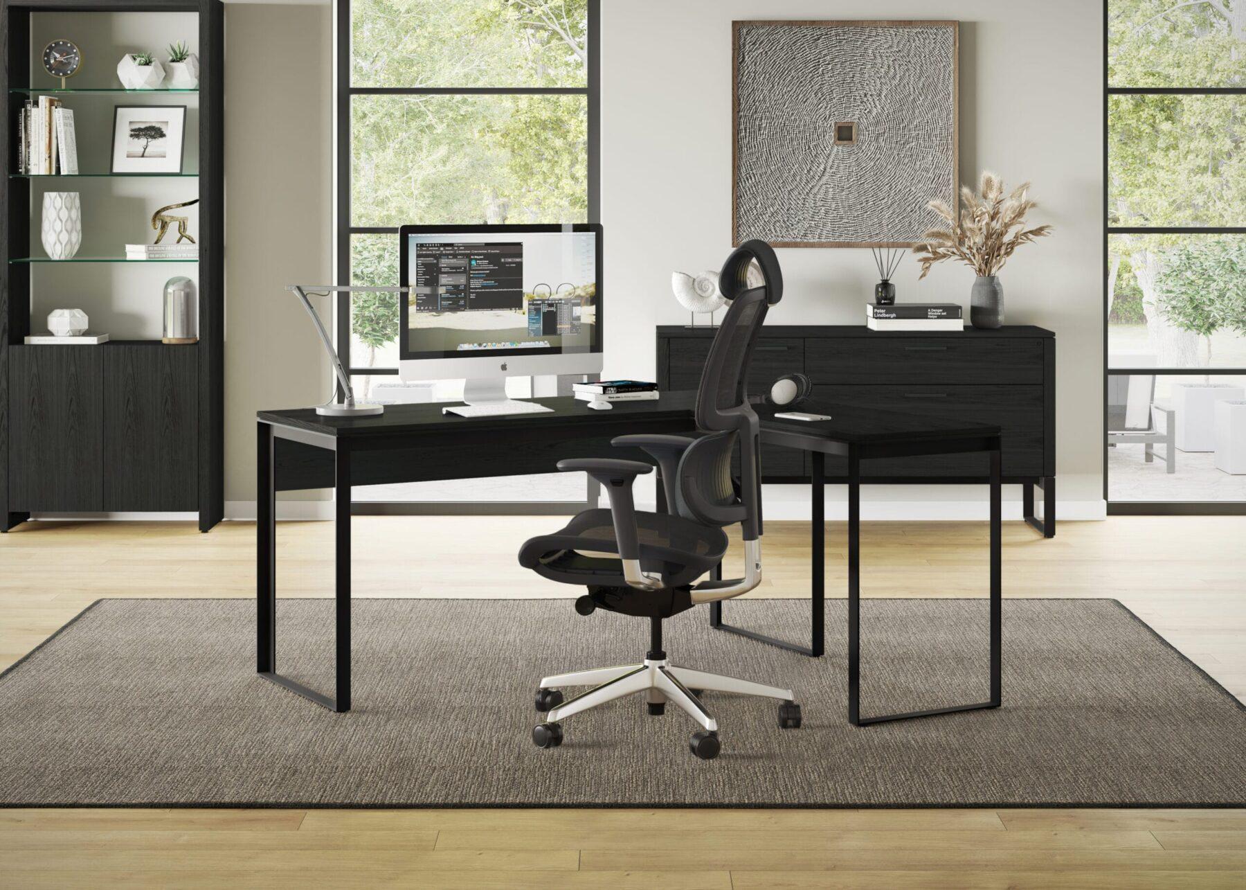 Linea-Work-Desk-6223-and-Return-6224-Corner-Desk-CRL