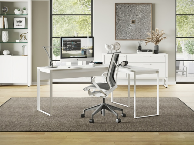 Linea-Work-Desk-6223-and-Return-6224-Corner-Desk-SW